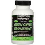 Healthy Origins- Green Coffee Bean Extract 120 vcap