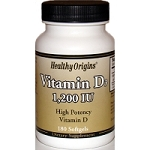 Vitamin D3 1200IU 180 softgels