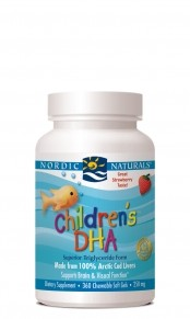 Nordic Naturals- Children's DHA  360 Chewable Softgels