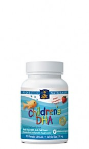 Children's DHA Fish Oil 180 Chewable Softgels