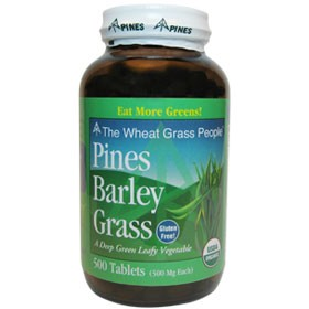 Pines- Organic Barley Grass 500 tablets